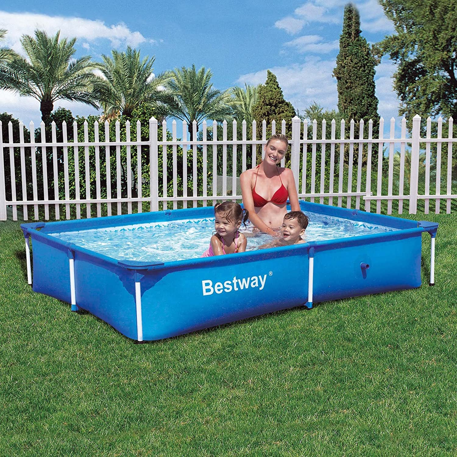 Bestway Piscina Piscina con anillo hinchable Rectangular
