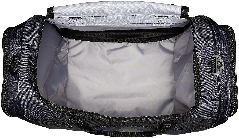 3152355f0a2 Amazon.com: adidas Unisex Defender III Medium Duffel Black Jersey/Black One  Size: Clothing