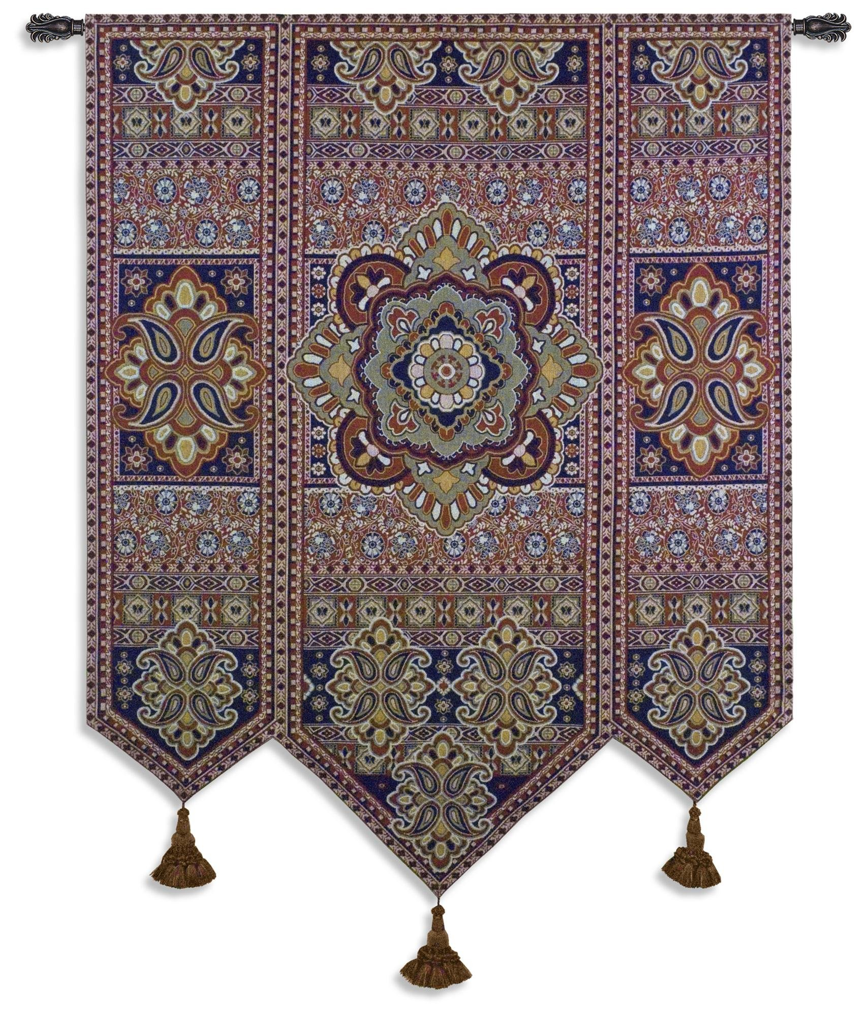 Fine Art Tapestries ''Masala Anise'' Wall Tapestry
