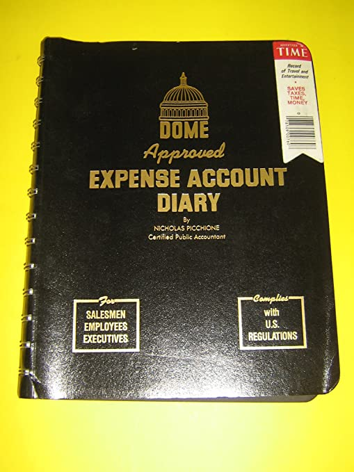 amazon com dome approved expense account diary appointment books