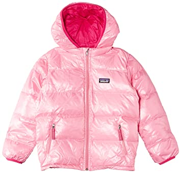 712e43f09068 Patagonia Hi-Loft Down Sweater Hooded Jacket - Infant Girls  Rosy ...