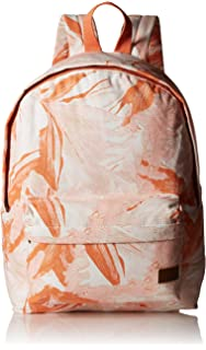 Roxy Womens Sugar Baby Canvas Solid Backpack