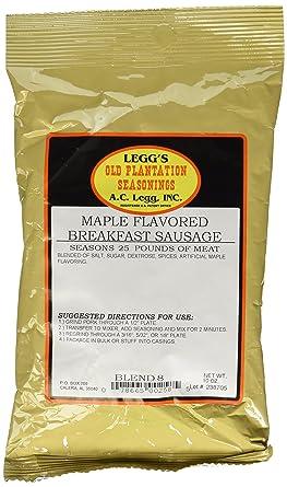 AC Legg Maple Flavored Breakfast Sausage