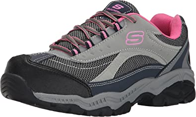 skechers steel toe shoes