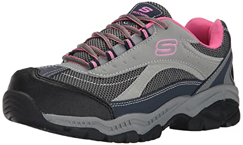 0833c2b73a4e3 Skechers for Work Women's Doyline Steel Toe Hiker Boot