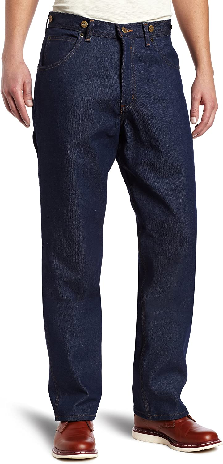 Men's Vintage Pants, Trousers, Jeans, Overalls Key Industries Mens Logger Jean $25.05 AT vintagedancer.com