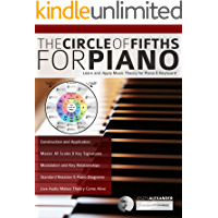 The Circle of Fifths for Piano: Learn and Apply Music Theory for Piano & Keyboard (Learn to Play Piano) book cover