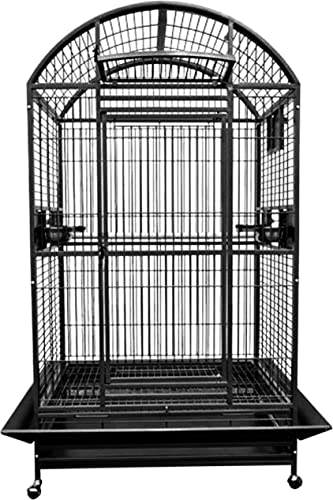 King s Cages 9004030 Parrot CAGE Dome Top Bird Cage with New Locks Toy Toys Macaws Cockatoo