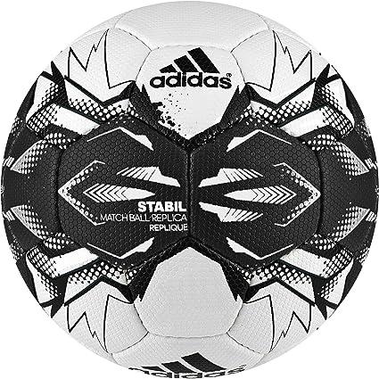 adidas Stabil Replique Balón de Balonmano, Unisex Adulto, Blanco ...