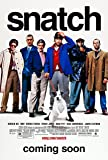 SNATCH MOVIE POSTER PRINT APPROX SIZE 12X8 INCHES