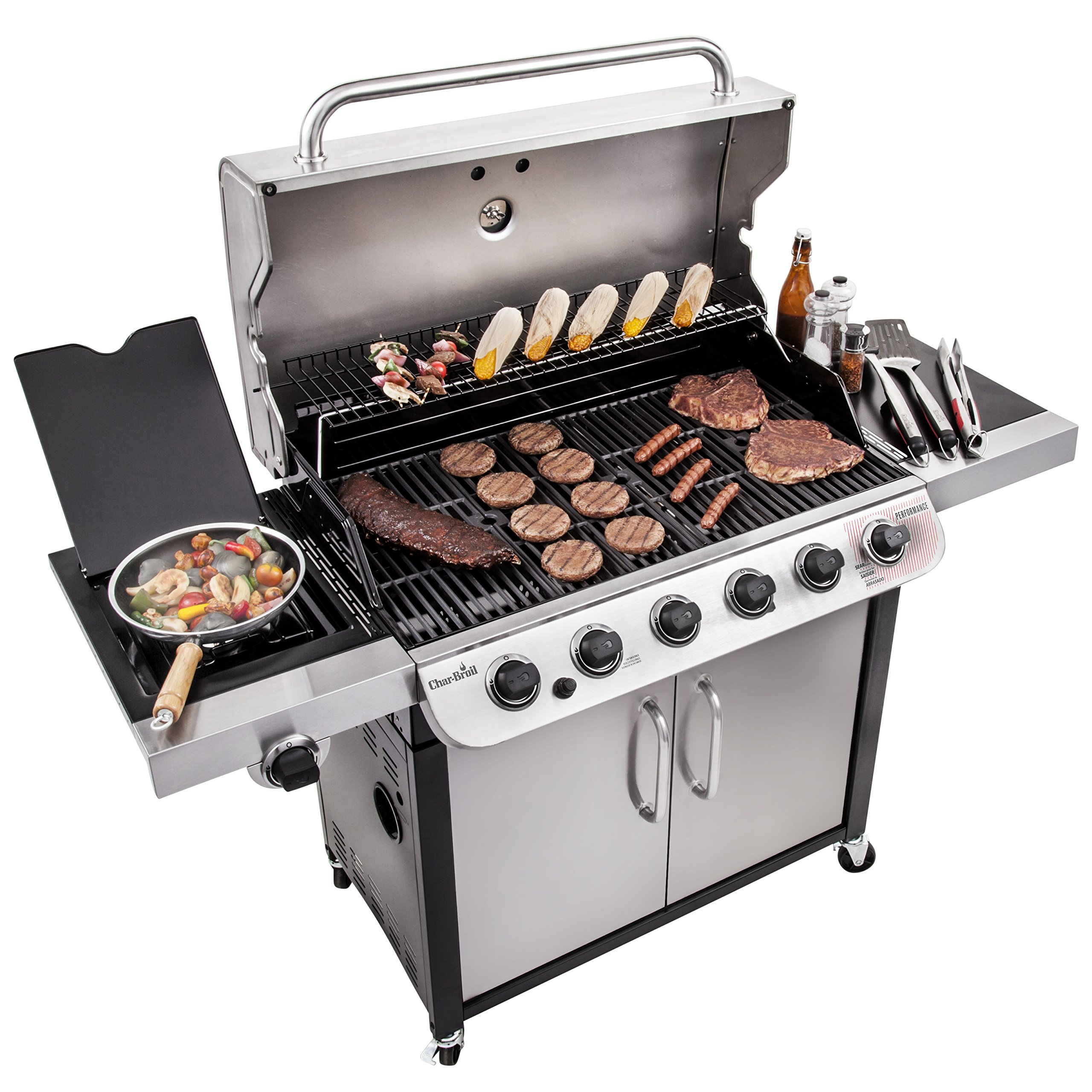 Char-Broil Performance 650 6-Burner Cabinet Gas Grill by Char-Broil (Image #5)