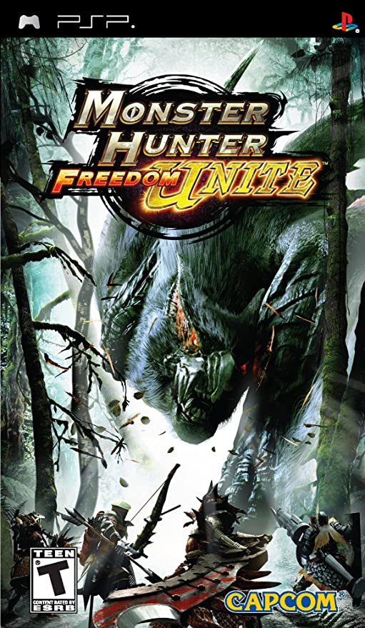 Monster Hunter Freedom Unite - Sony PSP by Capcom: Amazon.es ...