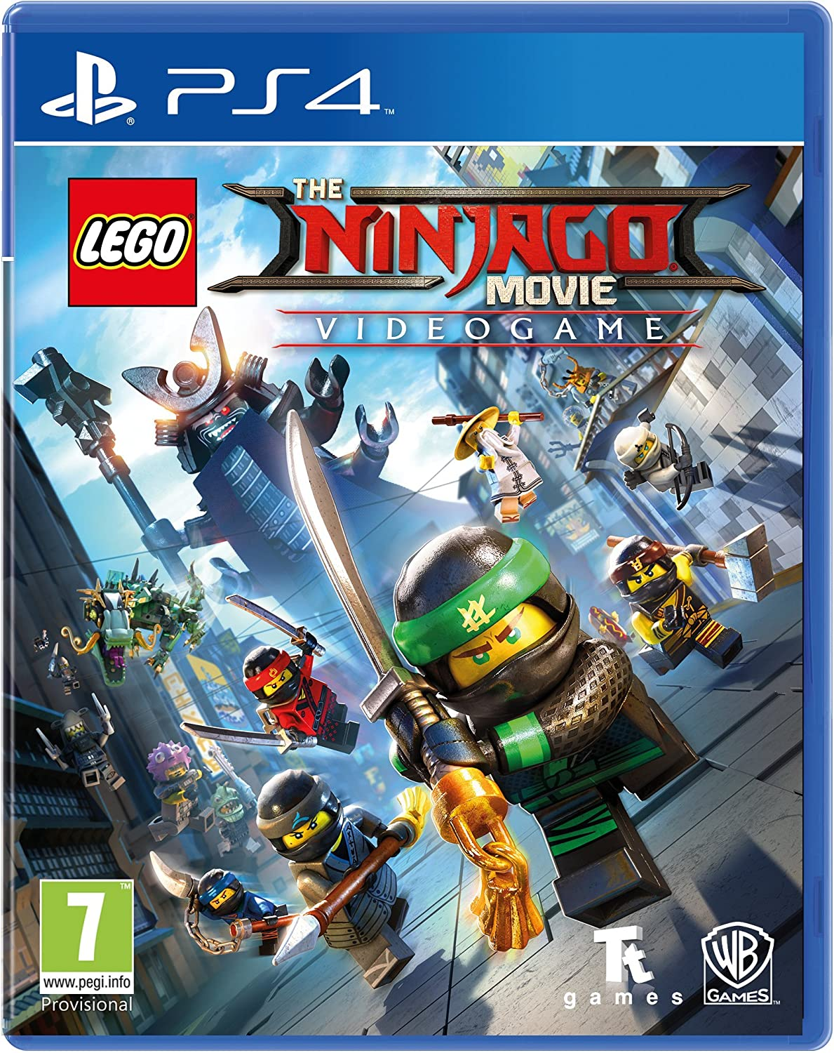 Lego Ninjago Movie Video Game Playstation 4
