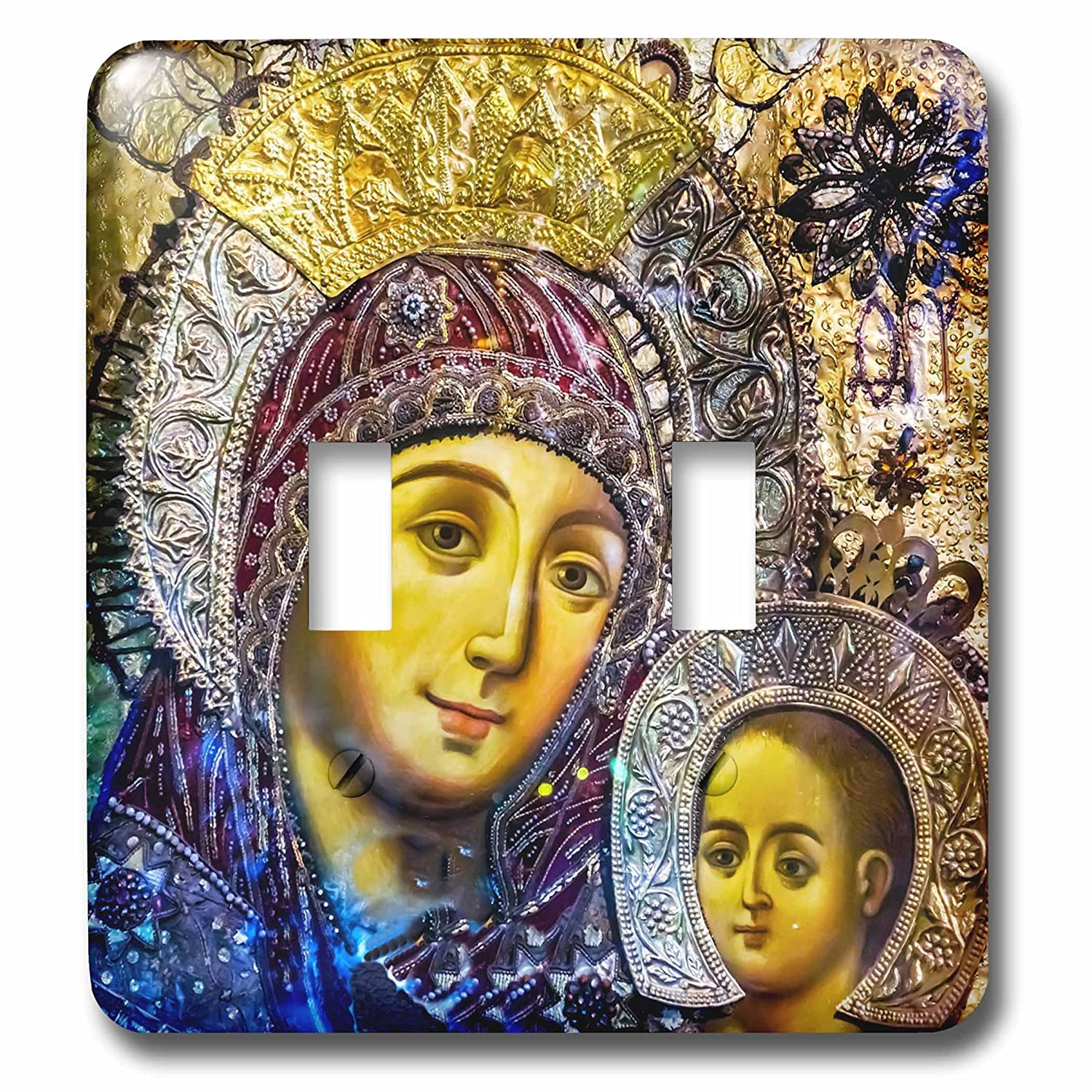 3drose Danita Delimont Religion Mary And Jesus Icon Church Of