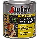 Sous-couche JULIEN pour bois exotiques et résineux - Incolore satiné 0,5L