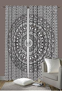Indische Vorhänge, Ethnisch, Schwarz, Gold, Ombre Mandala Decor,  Mandala Wandbehang, Meditations Design, Rund, Wohnzimmer, Kinder  Und ...