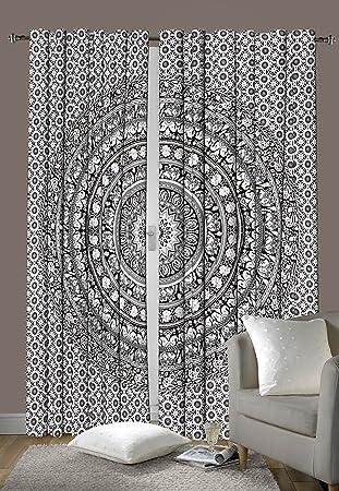 Amazon.de: Schlafzimmer-Gardinen, Design: Indisches Elefanten ...