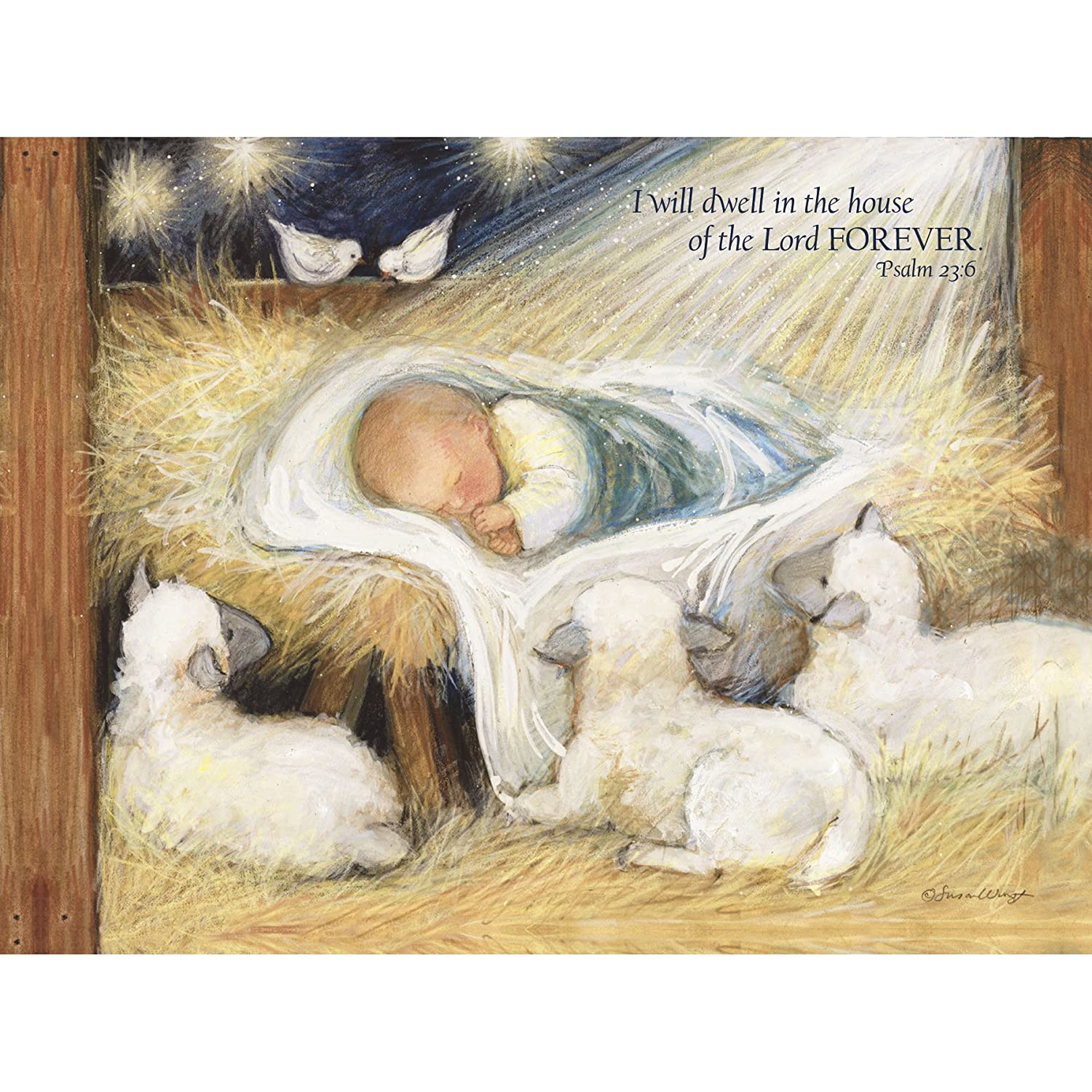 Amazon.com : Lang Forever Classic Christmas Card by Susan Winget ...