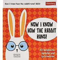 Now I know how the rabbit runs! 2020 16x17,5cm