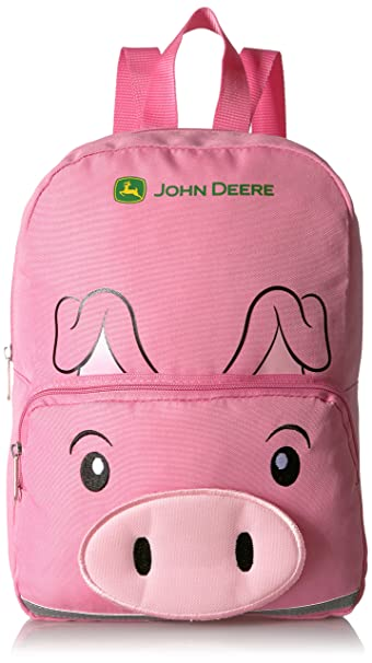 John Deere Girls Toddler Backpack, pink One Size