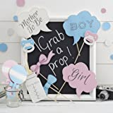 Photo Booth Foto Requisiten Babyparty Fotoecke -Little Lady or Mini Mister