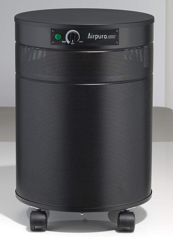 airpura T600 humo purificador de aire, portátil, acero, negro ...