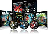 Beachbody Shaun T's CIZE Dance Cardio Fitness DVD Package: 6 Hot Dance Workouts on 3 DVDs with Calendar and Meal Plan