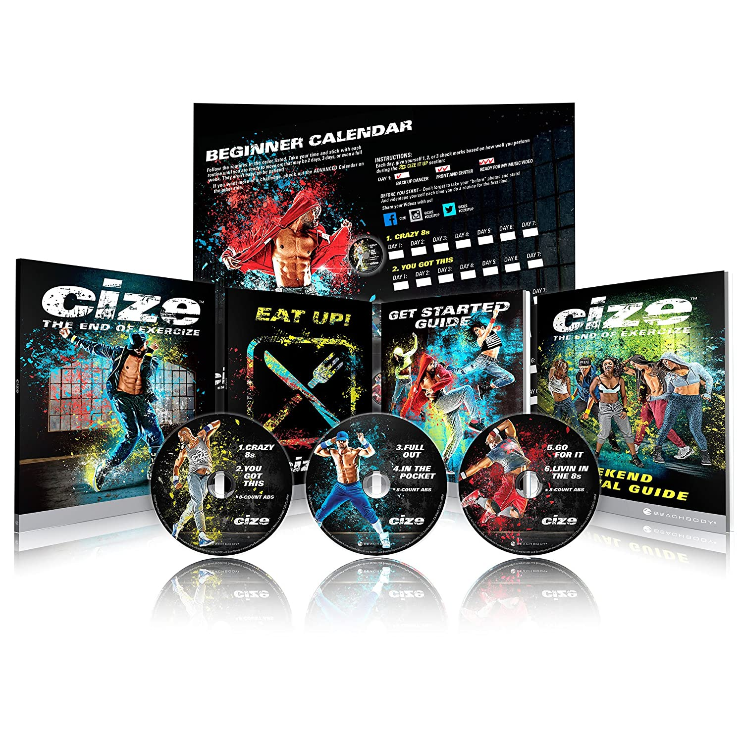 CIZE Dance Workout Base Kit - Shaun T Beachbody