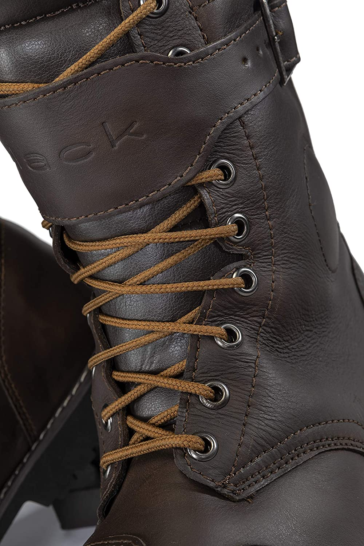 Black Heritage WP Ankle Motorcycle Boots 44 Brown (UK 10) braun 7EE4f