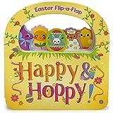 Happy & Hoppy: Easter Basket Lift-a-Flap Board Book (Flip a Flap)