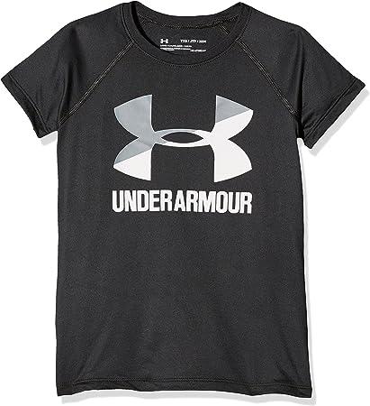 Maglietta A Maniche Corte Bambina Under Armour Armour Short Sleeve