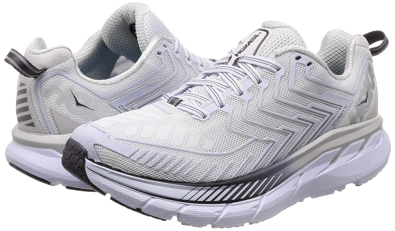 b2c082b515e HOKA ONE ONE B06XXTS68G Dámská běžecká  obuv Clifton 4 běžecká Bílá  Černá  perla 8461eba. Syntetický běžící střelec. Shop by Department