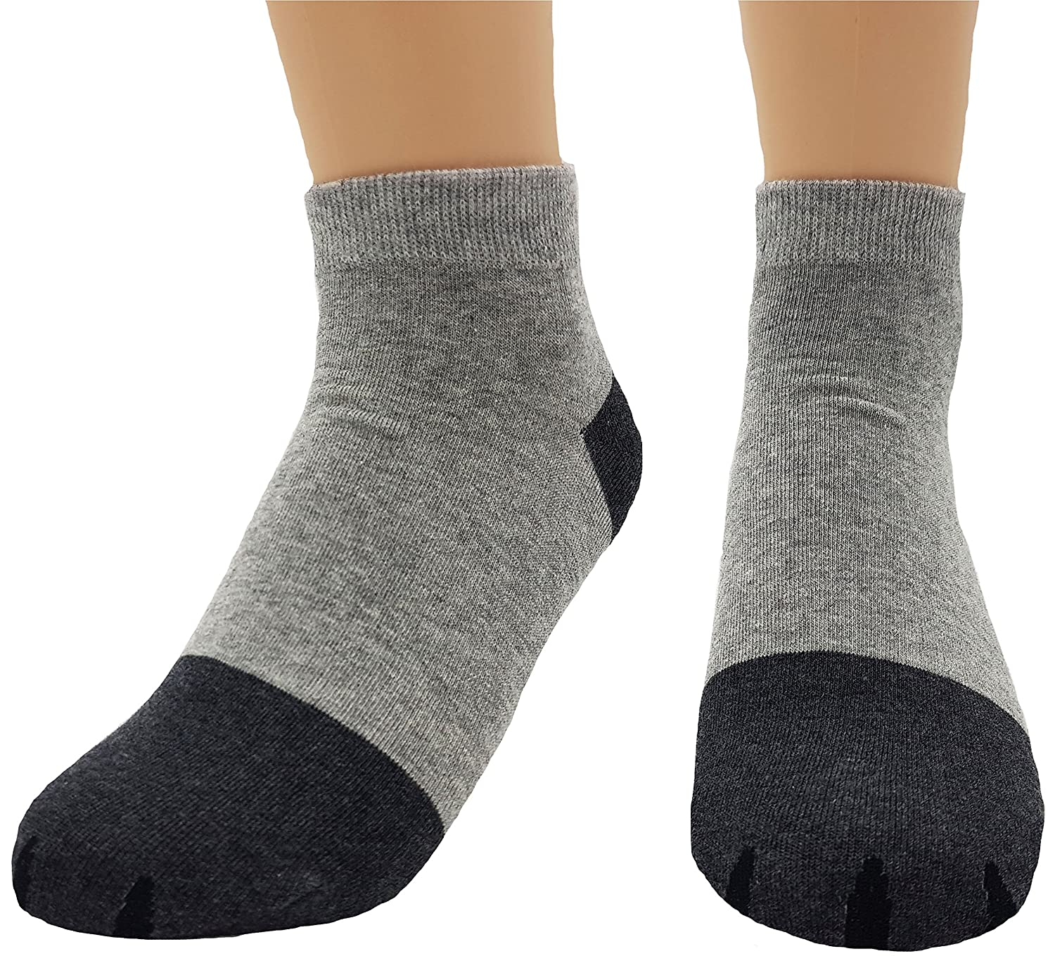 JJMax Girls Cute Kitty Cat Paws Socks with Paw Prints on Toes Ankle Height