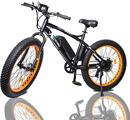 side facing ecotric 26 electric bike