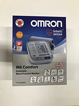 OMRON M6 COMFORT - Medidor de tensión arterial: Amazon.es: Hogar