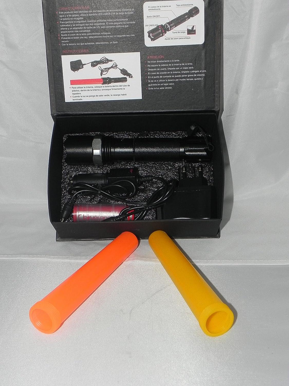 Grueso Grande Tubo telesc/ópico para Flechas Carcaj Flecha Estuche Porta Flechas Flecha telesc/ópica Flecha Larga port/átil Cuchar/ón de Almacenamiento de Gran Capacidad