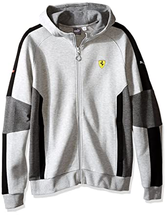 210d58ac6e1 PUMA Men s Scuderia Ferrari Hooded Sweat Jacket at Amazon Men s Clothing  store