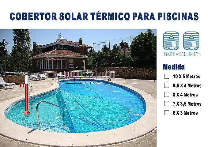 Ion Pure Cobertor Solar para Piscina, Azul, 6 x 3 m, IP-Express6x3: Amazon.es: Jardín