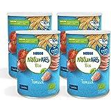 Naturnes Bio Nutripops Tomaat 10+ Maanden Baby Tussendoortje - 4 Hersluitbare Blikjes