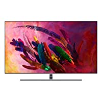 "Samsung QN65Q7F Flat 65"" QLED 4K Ultra HD Smart TV (2018), Eclipse Silver [Canada Version]"