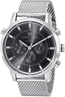 Amazon.com  Tommy Hilfiger Men s 1710330 Stainless Steel Watch with ... 10e5bdbece