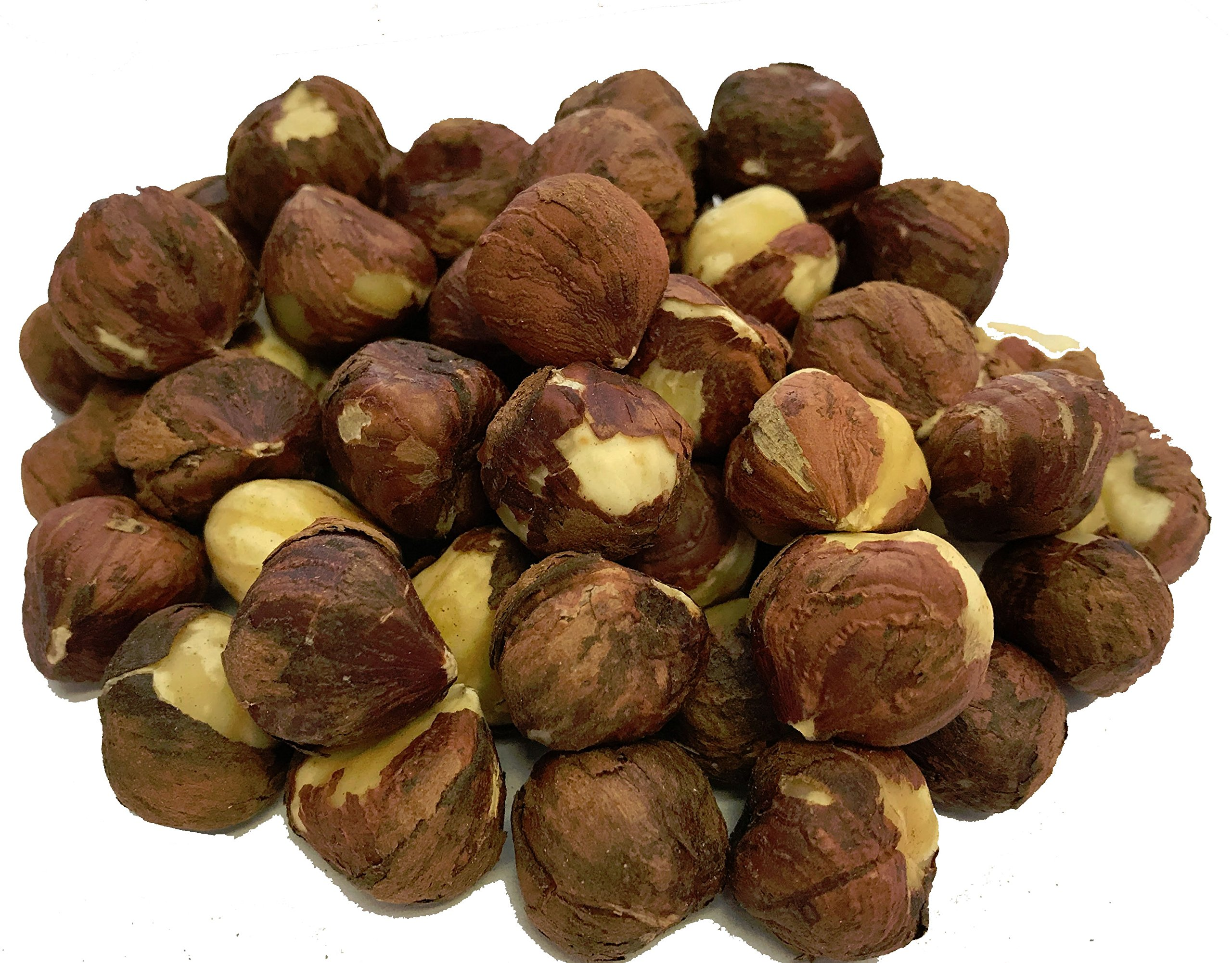 NUTS U.S. - Oregon Hazelnuts (Filberts) | Raw and Unsalted | Steam Pasteurized and NON-GMO | No Shell - Just Kernels | JUMBO SIZE | Packed in Resealable Bags!!! (4 LB) by NUTS U.S.