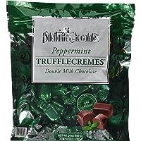 Peppermint Double Milk Chocolate Truffle Cremes - Dilettante 24oz