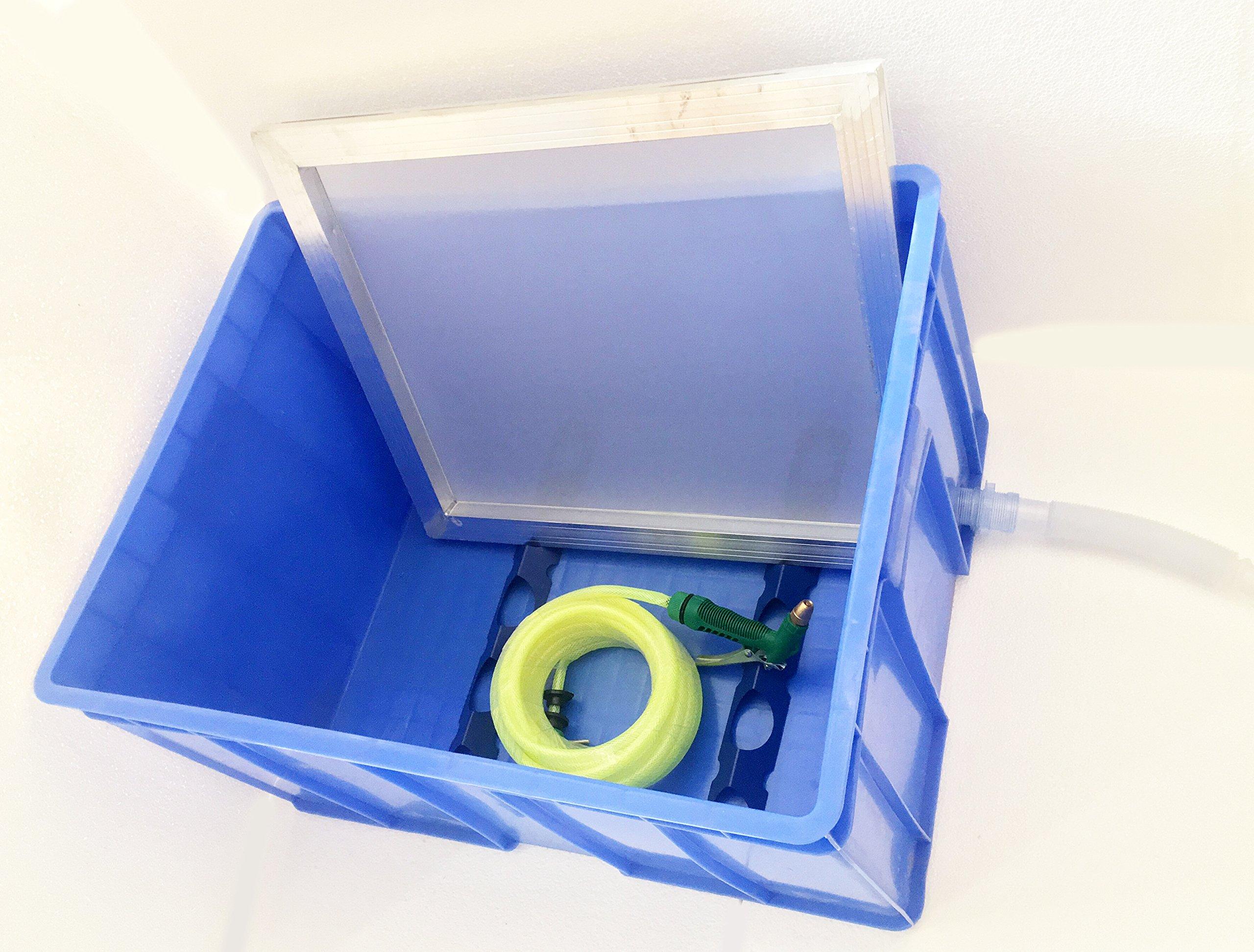 Techtongda Screen Printing Washout Booth Tank Screen Washing by Screen Printing Equipment