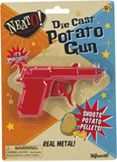 METAL SPUD GUN POTATO SHOT GIRLS BOYS TOY IDEA GIFT BIRTHDAY PART BAG FILLER