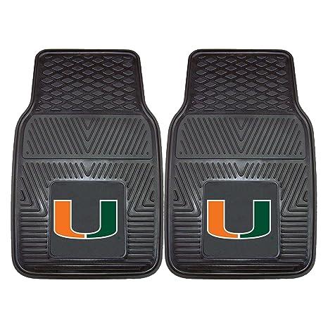 Amazon.com: FANMATS NCAA University of Miami Hurricanes Vinyl Heavy ...