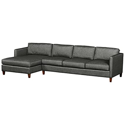 Amazon.com: Stone & Beam Andover Modern Left Chaise Sofa ...