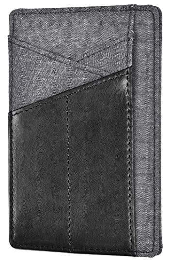 e116d8651765 Slim Wallet Front Pocket Minimalist Genuine Leather RFID Blocking Card  Holder