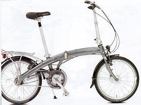 Dahon Bicicleta Plegable M & # 956; XL 20 Pulgadas Steel: Amazon.es: Deportes y aire libre