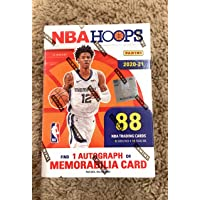 $119 » 2020-21 NBA HOOPS BLASTER BOX WITH AUTO OR MEMORABILIA